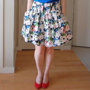 Sewaholic Crescent Skirt dressmaking pattern
